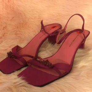 Bandolino Purple Heels